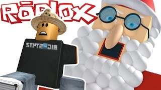ESCAPE SANTA CLAUS! | Roblox Obby!