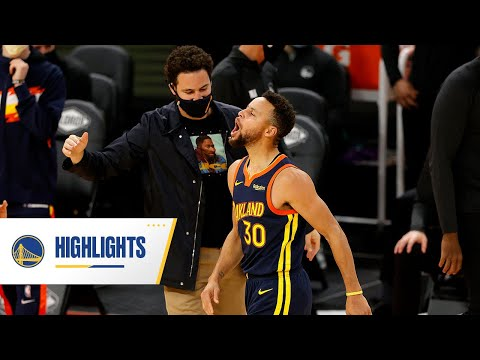 Stephen Curry Splashes in 36 Points in Warriors' Win - January 25, 2021