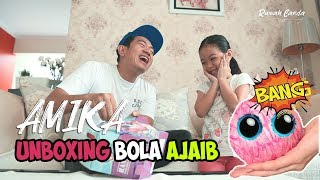 Video AMIKA - Unboxing Bola Ajaib Bisa Berubah Boneka    Super Papa    MP3, 3GP, MP4, WEBM, AVI, FLV April 2019