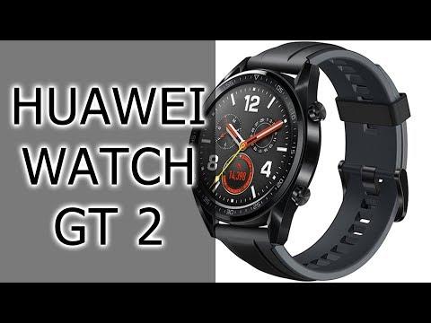 ПЕРВЫЙ ВЗГЛЯД  Часы Huawei Watch GT 2 - на стиле!