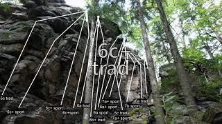 climbing VIDEOTOPO vol. 37. Lądek Zdrój. Trojak. Skalna Brama. by Video Topo