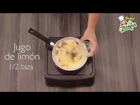 Conchitas con Salchicha y Queso | PASTAS ZONIA