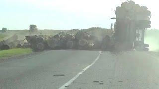 Аварии грузовиков Май 2016