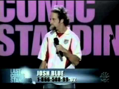 Josh Blue: 2006 Winner of NBC's Last Comic Standing, Paralympic Soccer Player