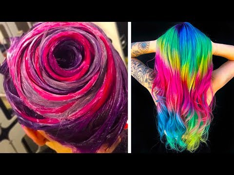 New hairstyle - SURPRISING COLORFUL HAIR TRANSFORMATIONS THAT YOU'LL LOVE