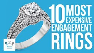 Top 10 Most Expensive Engagement Rings In The World  SUBSCRIBE to ALUX: https://www.youtube.com/channel/UCNjPtOCvMrKY5eLwr_-7eUg?sub_confirmation=1In this Alux.com video we'll try to answer the following questions:What is the most expensive ring in the world?What is the most expensive engagement ring?What's the world's most expensive engagement ring?Which celebrity has the most expensive engagement ring?Most expensive diamond ring?How much does an engagement ring costs?How much should you pay for an engagement ring?What's the world's costliest ringWATCH MORE VIDEOS ON ALUX.COM!Most Expensive Things: https://www.youtube.com/watch?v=Ay0u3dJRZas&list=PLP35LyTOQVIu4tNnitmhUqIjySwUhfOylLuxury Cars: https://www.youtube.com/watch?v=m5GhenZZs1k&index=1&list=PLP35LyTOQVItrVHGzdB9KY-Sbjq4gU-YmBecoming a Billionaire: https://www.youtube.com/watch?v=Skwfwf2SNpw&index=6&list=PLP35LyTOQVIsO8kOTx8-YOgwkGvrPtJ3MWorld's Richest:  https://www.youtube.com/watch?v=rAy_G-1JF74&index=1&list=PLP35LyTOQVIvthSKr0S3JdjWw3qA9foBaInspiring People: https://www.youtube.com/watch?v=lMjO3Gg45pM&list=PLP35LyTOQVItaKCX5o3yaje6_H9D-GuEMTravel the World:https://www.youtube.com/watch?v=-Blsz2JbdgM&t=2s&index=23&list=PLP35LyTOQVIt823Sy_C3-166RLzONbw6WDark Luxury: https://www.youtube.com/watch?v=ch7JWVk8Ldk&index=6&list=PLP35LyTOQVIvQU6lzpW5_lryMmdB6zncUCelebrity Videos: https://www.youtube.com/watch?v=UuhPRVdDli0&list=PLP35LyTOQVIuJuINlyvSU2VvP6pk9zjUkBusinesses & Brands: https://www.youtube.com/watch?v=Xr2YdBz2uWk&list=PLP35LyTOQVIv0fNwEgqmkrDd9d9Nkl7dz-Follow us on INSTAGRAM for amazing visual inspiration:https://www.instagram.com/alux/&Don't miss the latest Luxury News only on Facebook:https://www.facebook.com/ealuxe---Alux.com is the largest community of luxury & fine living enthusiasts in the world. We are the #1 online resource for ranking the most expensive things in the world and frequently refferenced in publications such as Forbes, USAToday, Wikipedia and many more, as the GO-TO destination for luxury content!Our website: https://www.alux.com is the largest social network for people who are passionate about LUXURY! Join today!SUBSCRIBE so you never miss another video: https://goo.gl/KPRQT8--To see how rich is your favorite celebrity go to: https://www.alux.com/networth/--For businesses inquiries we're available at:https://www.alux.com/contact/