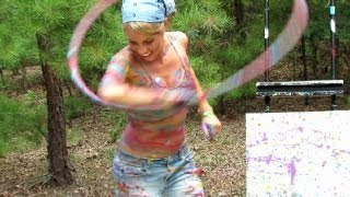 Katie Sunshine's Paint Hoop - This is beauty!