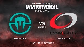 Immortals против compLexity, Вторая карта, SL i-League Invitational S4 NA Квалификация