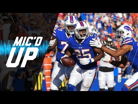 Video: LeSean McCoy Mic'd Up vs. Buccaneers
