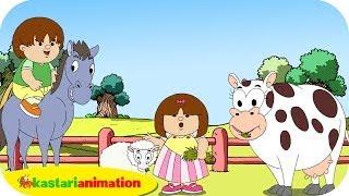 Download Video Kutahu Nama Satwa (domba, sapi, kuda) - Kastari Animation Official MP3 3GP MP4