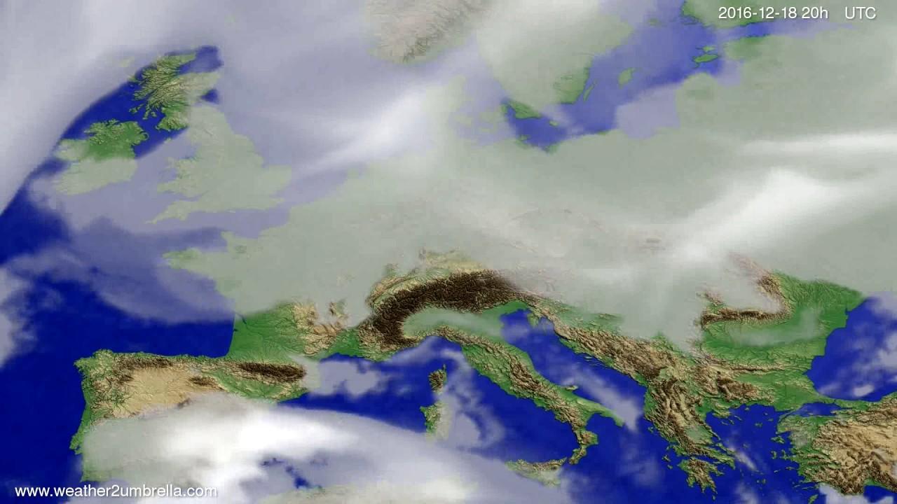 Cloud forecast Europe 2016-12-16