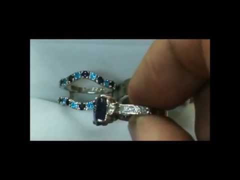 YARING PLATERO Video 74 - Engagement and wedding ring making