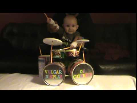 Vinnie Paul of Pantera Likes That Eight Month Old Rockin' Pantera