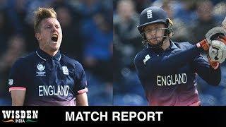 England romp into semis