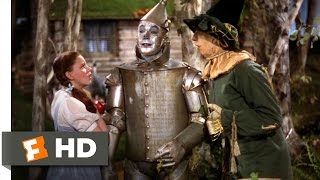 The Wizard Of Oz 5/8 Movie CLIP  Finding The Tin Man 1939 HD