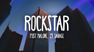image of Post Malone - Rockstar (Lyrics) ft. 21 Savage