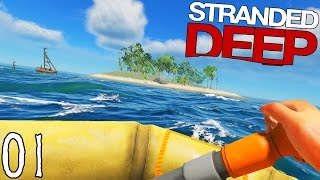 Video SEUL SUR UNE ÎLE ! | Stranded Deep ! #Ep1 MP3, 3GP, MP4, WEBM, AVI, FLV September 2017
