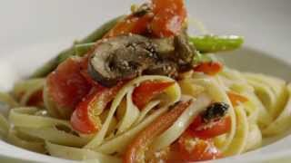 Pasta Recipe - How To Make Roasted Veggie Pasta