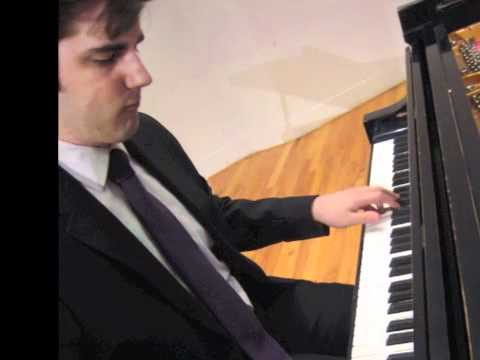 Bradley Burgess plays Beethoven - Pastoral Sonata (1st mvt, extract)
