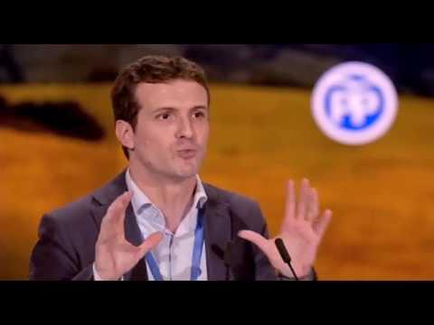 Intervención de Pablo Casado en el 18 Congreso