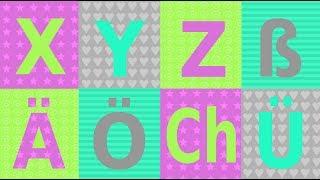 """Teil 3 des Dreiteilers zum Thema deutsches Alphabet und Aussprache: die Buchstaben XYZ, sowie Umlaute, Doppellaute, das scharfe S und Buchstabenkombinationen. Pro Groß- und Kleinbuchstaben je mehrere Beispiele häufiger Nomen mit Artikel. Liebevoll und leicht verständlich illustriert für Kinder, aber auch für erwachsene Sprachanfänger. Dieses Video trainiert sowohl Aussprache als auch wichtiges Vokabular (A1 - A2) Viel Spaß!Part three of three about the German Alphabet and pronunciation: letters XYZ, Umlaute, the unique German letter """"ß"""", diphthongs and other letter combinations - lower case and capital letters with several examples each. Lovingly illustrated and easy to understand for kids and beginner learners of German. This video covers pronunciation as well as important vocabulary: frequent nouns including articles der – die – das (A1 – A2) Have fun!"""