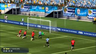 URUGUAY - COSTA RICA | FIFA World Cup 2014 (All Goals Highlights HD)