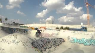 Einfach nur ein schöner Sommertag im Osthafen Skatepark FFM