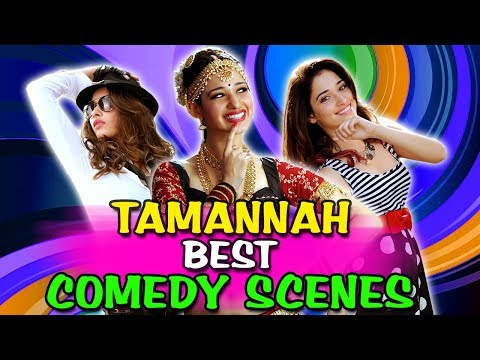 Tamannah Bhatia Best Comedy Scenes | South Indian Hindi Dubbed Best Comedy Scenes