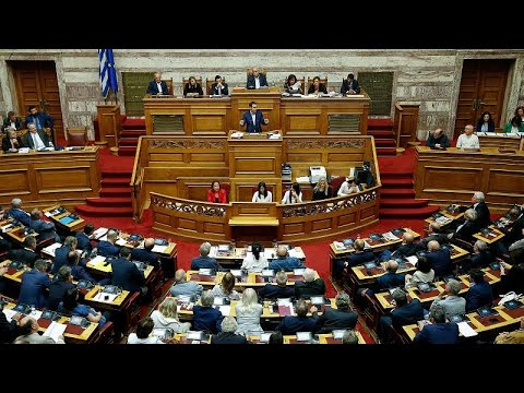 Aπορρίφθηκε η πρόταση δυσπιστίας κατά της κυβέρνησης