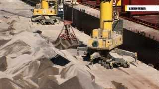 Video Liebherr - LHM Mobile Harbour Cranes:  Bulk Handling MP3, 3GP, MP4, WEBM, AVI, FLV Desember 2018