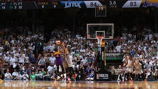 Chelsea Gray's CLUTCH Shot Wins WNBA Finals Game 1! by WNBA