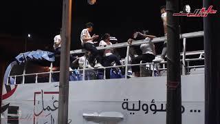 شباب وسط البلد يحتفلون بإعلان نتيجة الإستفتاء