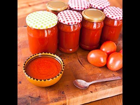 ketchup fatto in casa - ricetta