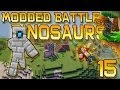 Minecraft: Modded Dinosaur Survival Let's Play w/Mitch! Ep. 15 - BATTLE TOWER BOSS!