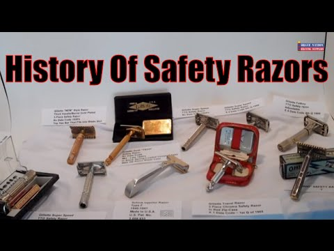 History of Gillette and Other Safety Razors 1930 to 1970 Geofatboy ShaveNation