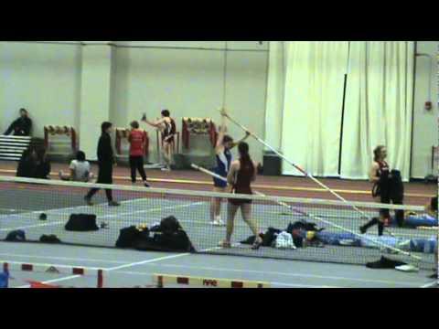 Jenna Adams pole vautling at MIT