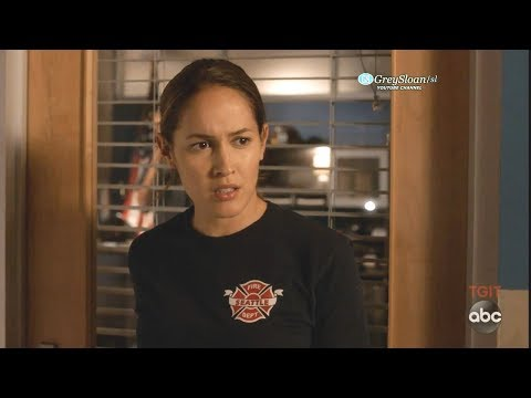 Station 19 2x06 Ending Scene Andy Surprised That Captain Asks Her To a Coffee Date