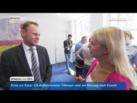 G20-Gipfel: Hamburgs Innensenator Andy Grote zum Po ...