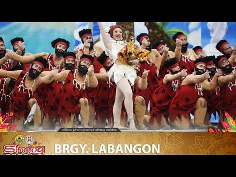 Tribu sa kabataan 2nd placer    Brgy. Labangon.         #sinulog2020