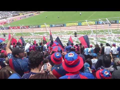 Recibimiento S.D. Quito vs. homosex\U/ales - Mafia Azul Grana - Deportivo Quito