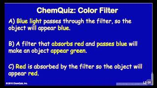 Colored Filter (Quiz)