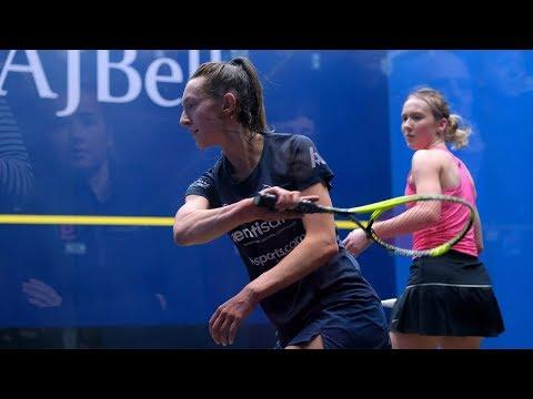 AJ Bell National Squash Championships 2020 - QF - Session 1