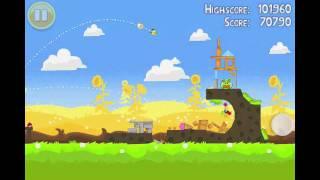 Angry Birds Seasons Summer Pignic Level 13 Walkthrough 3 Star