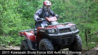9. MotoUSA 2011 Kawasaki Brute Force 650 4x4I ATV