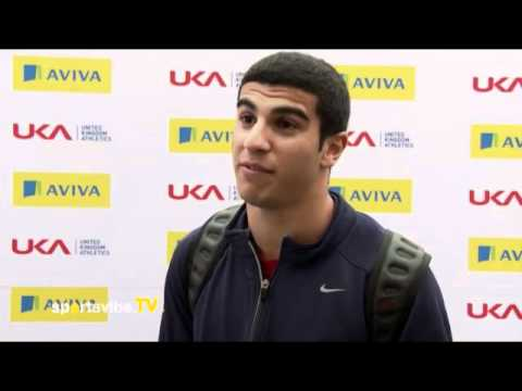 Adam Gemili on Qualification for the 2012 Olympic Games