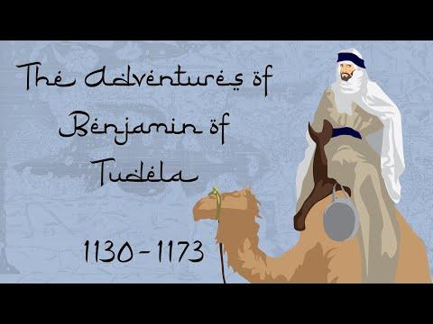 The Adventures of Benjamin of Tudela (1130-1173)
