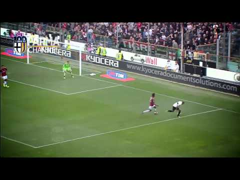 Marco Parolo, gol d'autore con il Parma