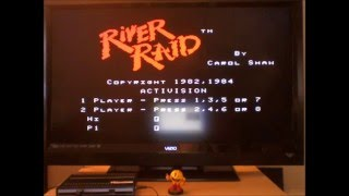 River Raid (Colecovision Emulated) by DuggerVideoGames