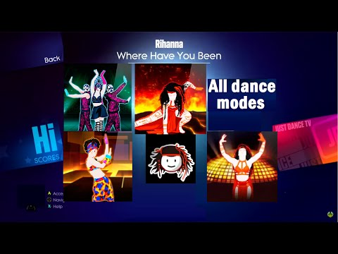 Where have you been - Just Dance 2014 (+Ext.,O.S. and Mashup)
