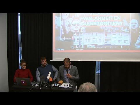 Rechtsradikale ins Netz gestellt: Künstlerkollektiv kon ...